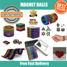 Sensory Sphere Toy Magnet Bead Balls Stress Fidget Magic Mag Learning Game Gift