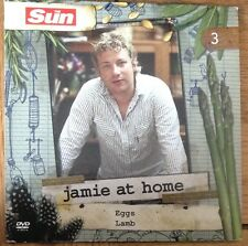 DVD - JAMIE OLIVER/JAMIE AT HOME - DISC 3 Eggs Lamb - NEWPAPER PROMOTION