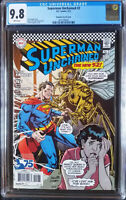 Superman Unchained (2013 DC) #2 Paqueth Silver Age Variant CGC 9.8 1:50
