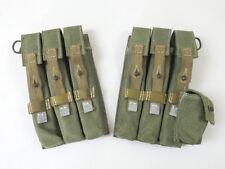 #E Wehrmacht Afrikakorps MP40 PAAR Magazintasche MP38/40 Schmeisser Tropen DAK