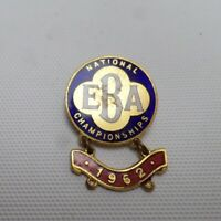 English Bowls Association EBA National Championships 1962 Vintage Enamel Badge