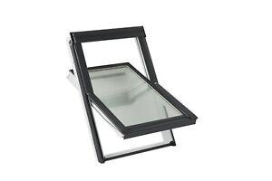 VELUX (3-fach Verglasung), Dachfenster aus Kunststoff inkl. Eindeckrahmen