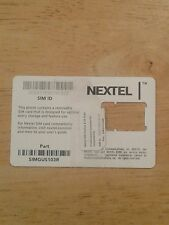 Nextel sim card part simgus103r