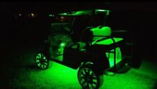 4pc LED GREEN GOLF CART KART NEON UNDERBODY UNDERGLOW LIGHT 12V WATERPROOF SET