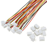 10 Set Mini Micro JST 1.5mm ZH 4 Pin Housing Connector Plug KIT 15cm Wire Cable