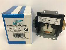 30 Amp 2 Pole 24V Coil HVAC Definite Purpose Contactor -  ALLTEK
