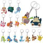New 3D Pocket Monsters Pokemon Key Ring Keychain Key Pendant Holder Toys Gifts