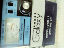 GALAXY  SWR  METER SWR12 NIB