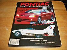 PONTIAC ENTHUSIAST VOLUME 4 NUMBER 6 1998