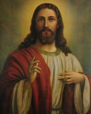"Catholic print picture-  JESUS SH18  -   8"" x 10"" ready to be framed"