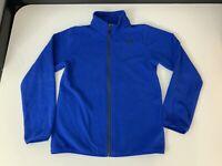 North Face Boys Fleece Jacket, Size Large Boys, Age 10-12, Blue, Vgc