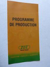 catalogue remorque agricole : programme de production ZDT nove veseli