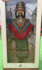 2004 Mattel Barbie Princess Of Ancient Mexico Pink Label Dolls of the World NRFB