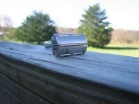 Gillette 1958 Silver Tone Flare Tip Super Speed DE Safety Razor (D-4)