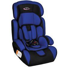 Tectake Siège Auto Groupe I/ii/iii pour Enfants 9-36 kg 1-12 ans Bleu/noir