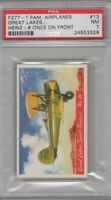 1940 F277-1 Heinz Famous Airplanes # Once on Front #13 Great Lakes Graded PSA 7