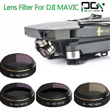 PGY G-ND4 ND8 ND16 ND32 Filter Lens Set Quadcopter For DJI Mavic Pro Cam Drone