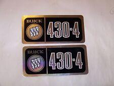 67 68 69 BUICK 430-4 VALVE COVER DECALS 1967 1968 1969 STICKER RIVIERA WILDCAT E