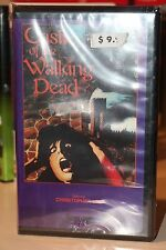 CASTLE OF THE WALKING DEAD RARE SATURN VIDEO VHS 1967 rare horror clamshell