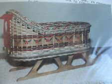 """Basket Weaving Pattern Only """"Table Top Sleigh"""""""