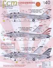 FCM Decals 1/72 F-14 TOMCAT SUNDOWNERS VF-111 Part 1