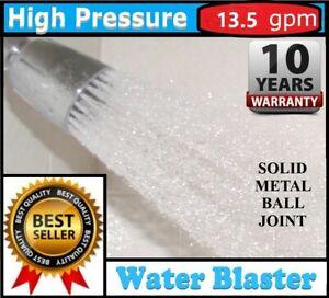High-Flow  *13.5 GPM*  High Pressure Shower Head by WATER BLASTER > Soft Hi Flow