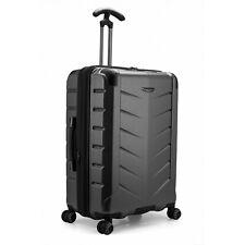 "Silverwood II 26"" Medium Checked Anti-Theft Expandable Spinner Luggage Suitcase"