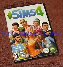The Sims 4 (PC-DVD) BRAND NEW & FACTORY SEALED! Free Ship! physical disc version
