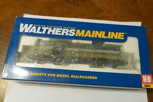 HO SCALE WALTHERS ON ALCO RS-2 ONTARIO NORTHLAND DIESEL LOCOMOTIVE NEW IN BOX 1.