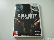►►►► NINTENDO Wii / Call of Duty Black Ops [Pal version]