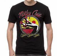 MOTLEY CRUE T-Shirt Heels Girls Girls Girls Mens Tee New Authentic S-2XL