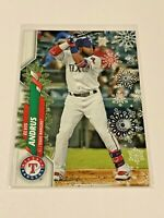 2020 Topps Walmart Holiday Baseball HW118 - Elvis Andrus - Texas Rangers