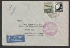 Dt. Reich 1937 Luftpost Brief nach Asuncion / Paraguay
