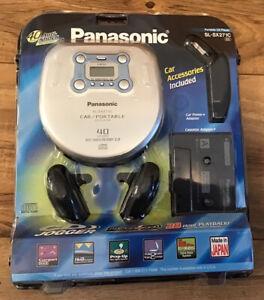 Panasonic Portable CD Jogger Player SL-SX271C 40 sec Anti-Shock Memory 3.0 NEW