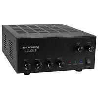Bogen CC4041 Compact 4-Input 40W Commercial Mixer-Amplifier