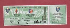 Orig.Ticket   Serbien / Montenegro Pokal 04/05  FINALE  FK ZELEZNIK - RS BELGRAD