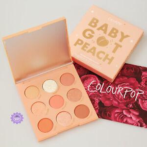 ColourPop Baby Got Peach Eyeshadow Palette *100% GENUINE* Brand New