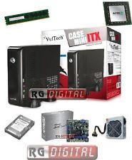 PC DESKTOP MINI ITX AMD QUAD CORE RAM 4 GB HD 500 GB COMPLETO CPU AMD