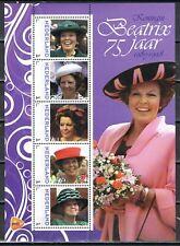 Nederland 2013 3012 serie Beatrix 75 jaar Vel 4 - Royalty