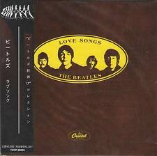 THE BEATLES LOVE SONGS CD MINI LP NEW, OBI+GIFT+8 Page Booklet Paul McCartney
