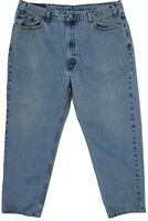 Levi Vtg 90s Men's 550 Relaxed Fit Tapered Leg Jeans 42 x 30 Medium wash