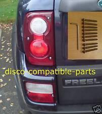 Land Rover Freelander Rear Lens Stainless Security Kit