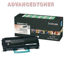 Compatible Toner X264H11G Black Lexmark X264 X 363 X364