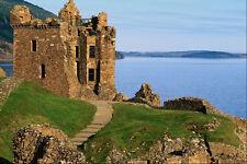 691029 Urquhart Castle Loch Ness Scotland A4 Photo Print