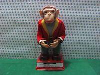 Antique Tin Toy TN - Monkey Hy-Que - T.N.Ichiko Masudaya Japan 1950