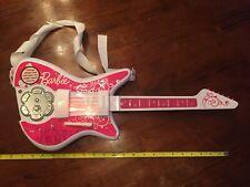 "2008 Mattel Barbie Guitar KIDESIGNS Musical Instrument 22"" Toy"