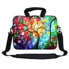 "11.6"" 12.3"" Neoprene Laptop Bag Case w. Side Pocket Shoulder Strap Handle  3128"
