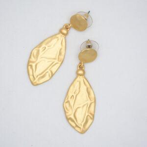 chico's jewelry elegant gold tone post stud drop dangle earrings vintage antique