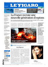 Le Figaro 13.2.2017 N°22554*FRANCE 600 ESPIONS*Provacations TRUMP=CANADA-MEXIQUE