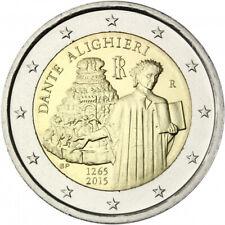 "2 euro commémorative  2015 Italie ""NEUVE UNC"" DANTE"